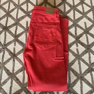 BNWT American Eagle super high rise jeggings